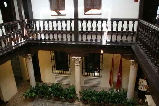 Casa de Miguel de Cervantes- Patio interior