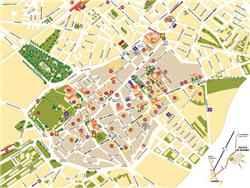 Tourist Map of Alcalá de Henares