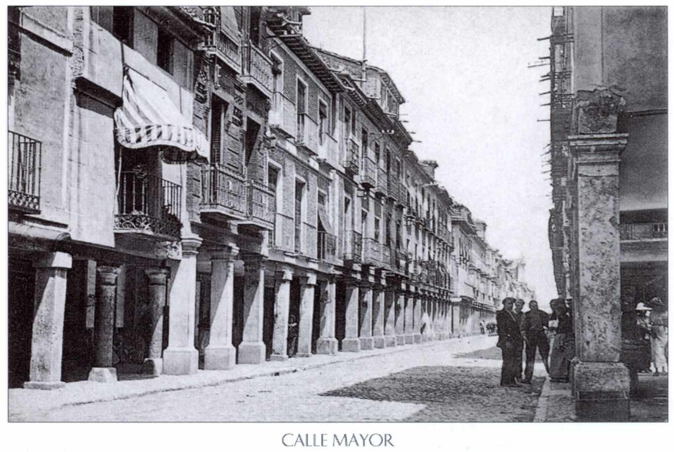 Alcala_de_Henares-1910-Calle Mayor, la Alcalá judía