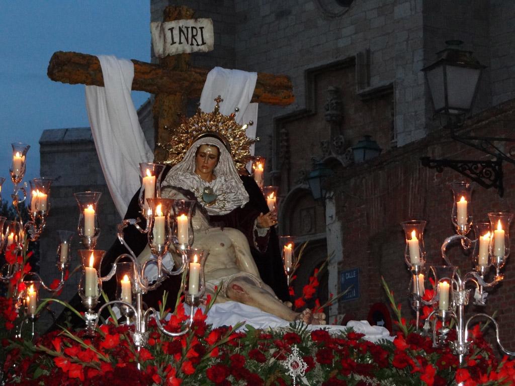 Procesión Lunes Santo Cristo de los desamparados (50)