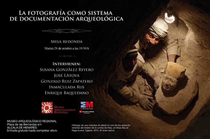 Mesa redonda sobre la fotografía en la documentación arqueológica