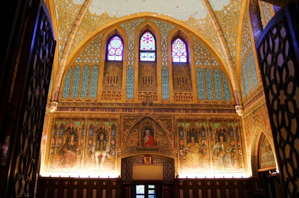 Salón de los Reyes - Palacio de Laredo (1)