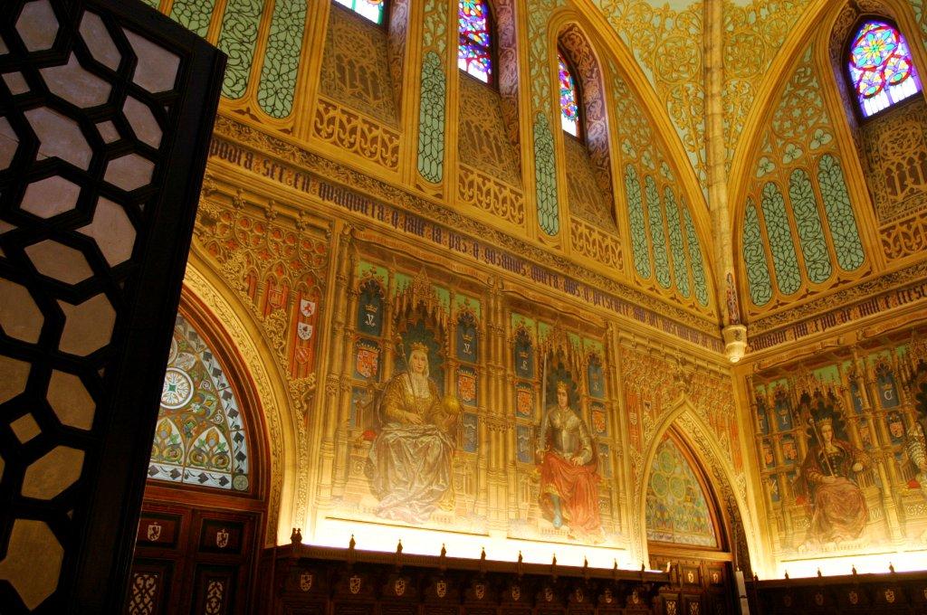 Salón de los Reyes - Palacio de Laredo (2)