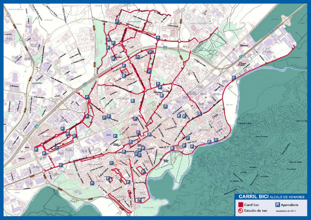 Carril-bici-Alcalá-de-Henares