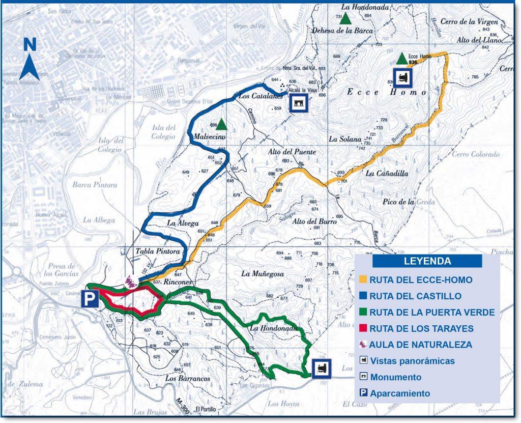 Plano-Los-Cerros-de-Alcalá