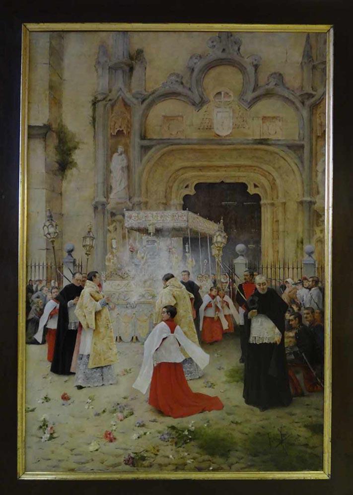La procesión de las Santas Formas - Félix Yuste