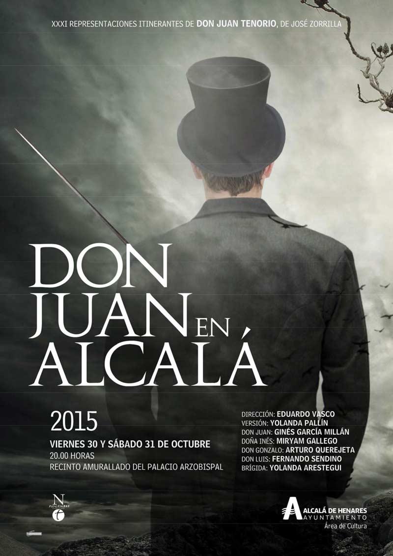 Cartel Don Juan en Alcalá 2015
