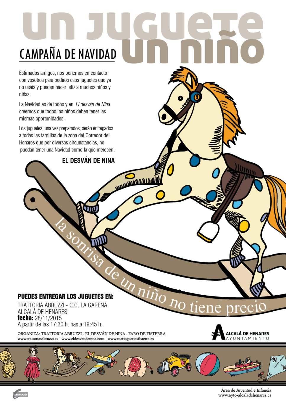 Un Dream Alcalá Campaña Solidaria JugueteNiño A543RLqcjS