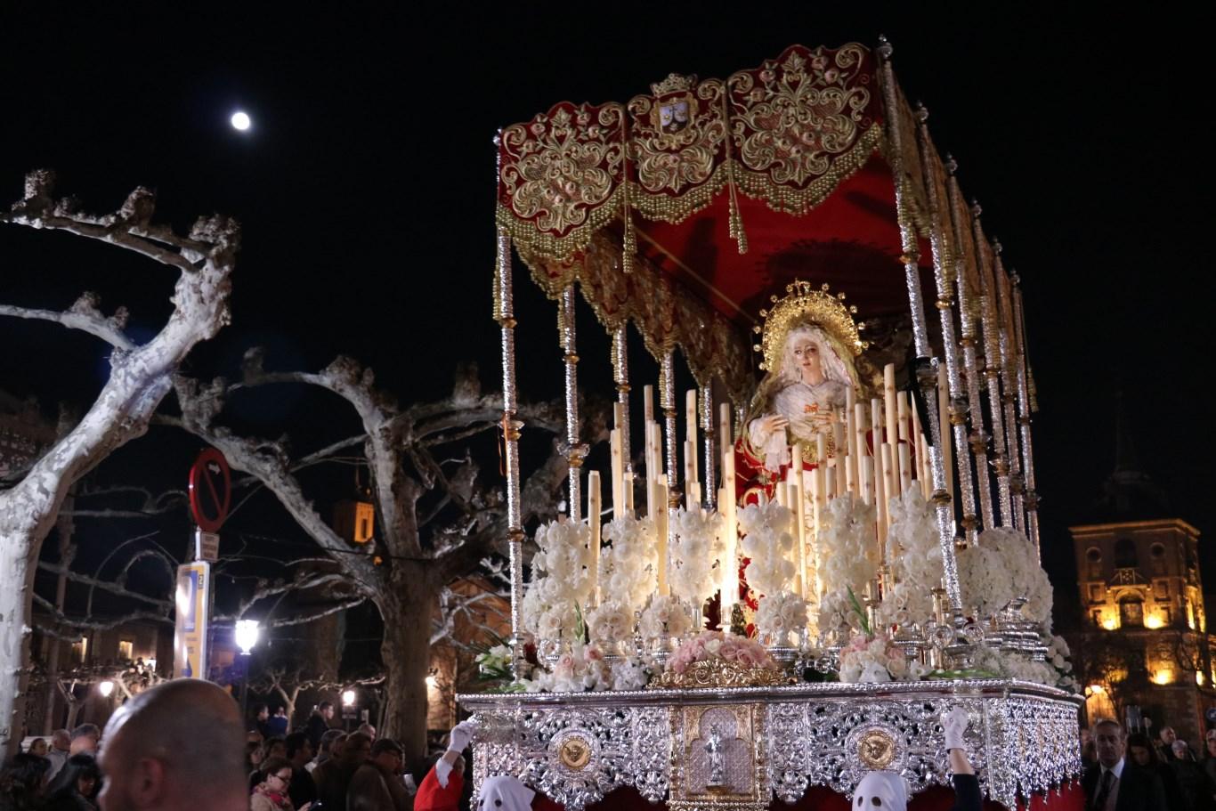 Miércoles Santo 2016 Cristo Atado a la Columna (501)