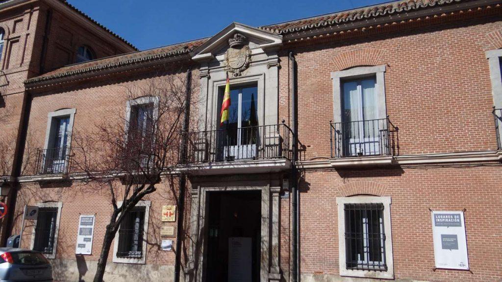 Aspecto actual del Colegio del Rey, sede del Instituto Cervantes