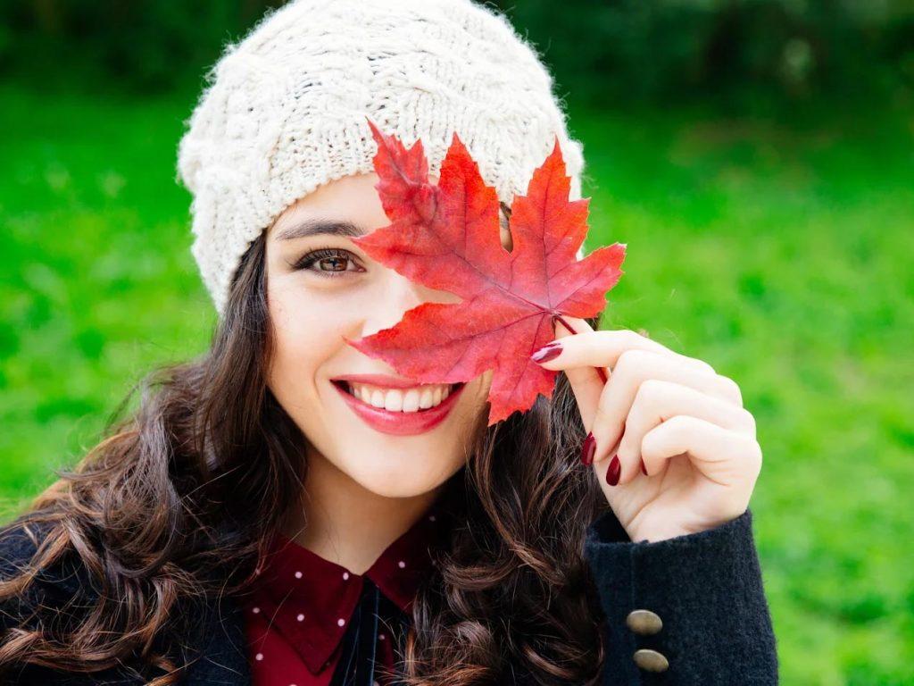 Chica-otoño
