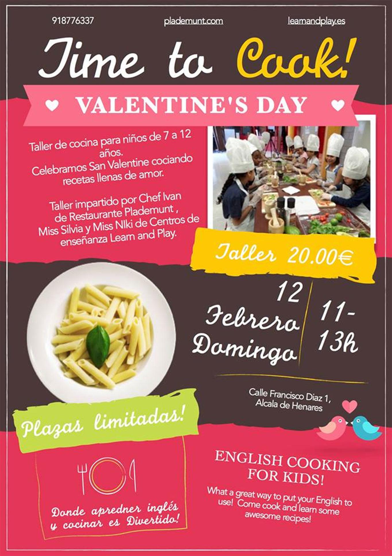 Recetas De Cocina En Ingles Para Niños | Plademunt Y Learn And Play Cena De San Valentin Para Ninos En