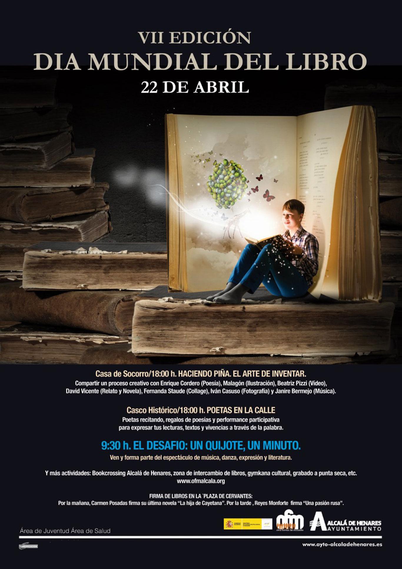 El Día Mundial Del Libro Con Otra Forma De Moverte Dream Alcalá