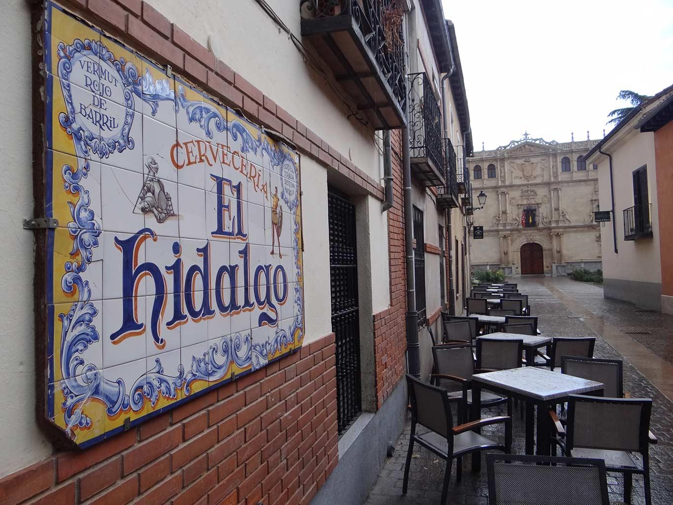 Tapas en Alcalá de Henares - El Hidalgo