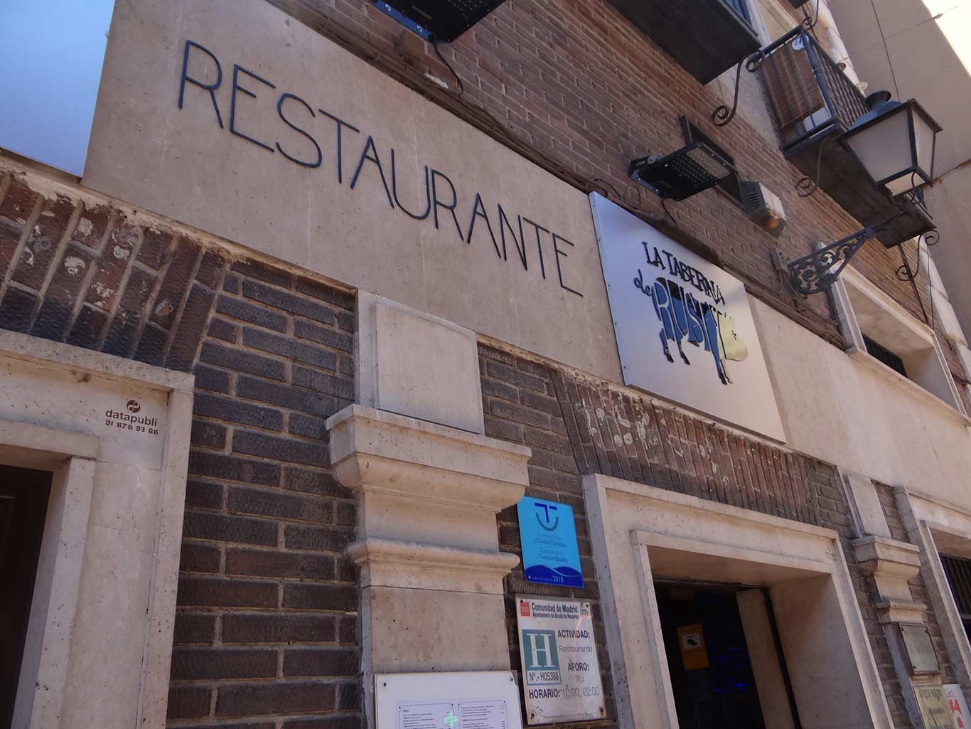 Tapas en Alcalá de Henares - La Taberna de Rusty