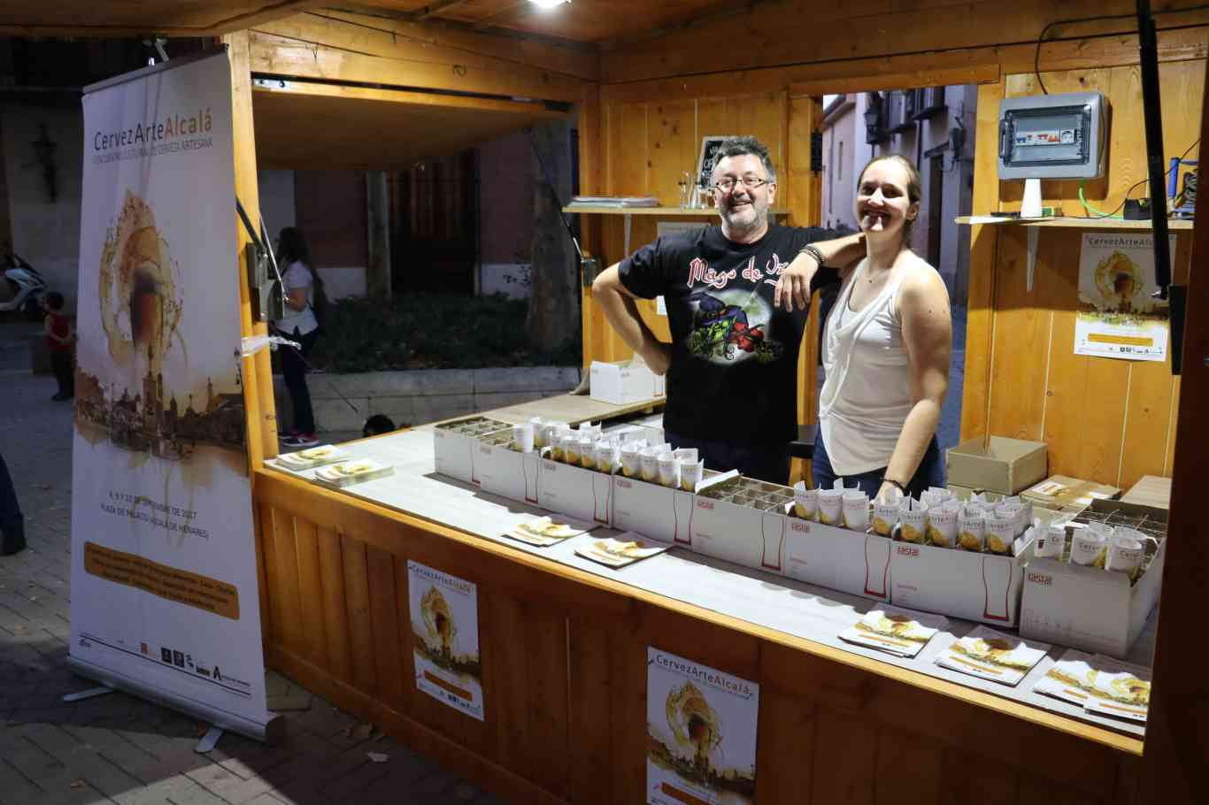 inauguración CervezArte Alcalá