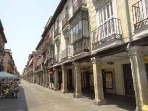 Barrio histórico de Alcalá - la calle Mayor