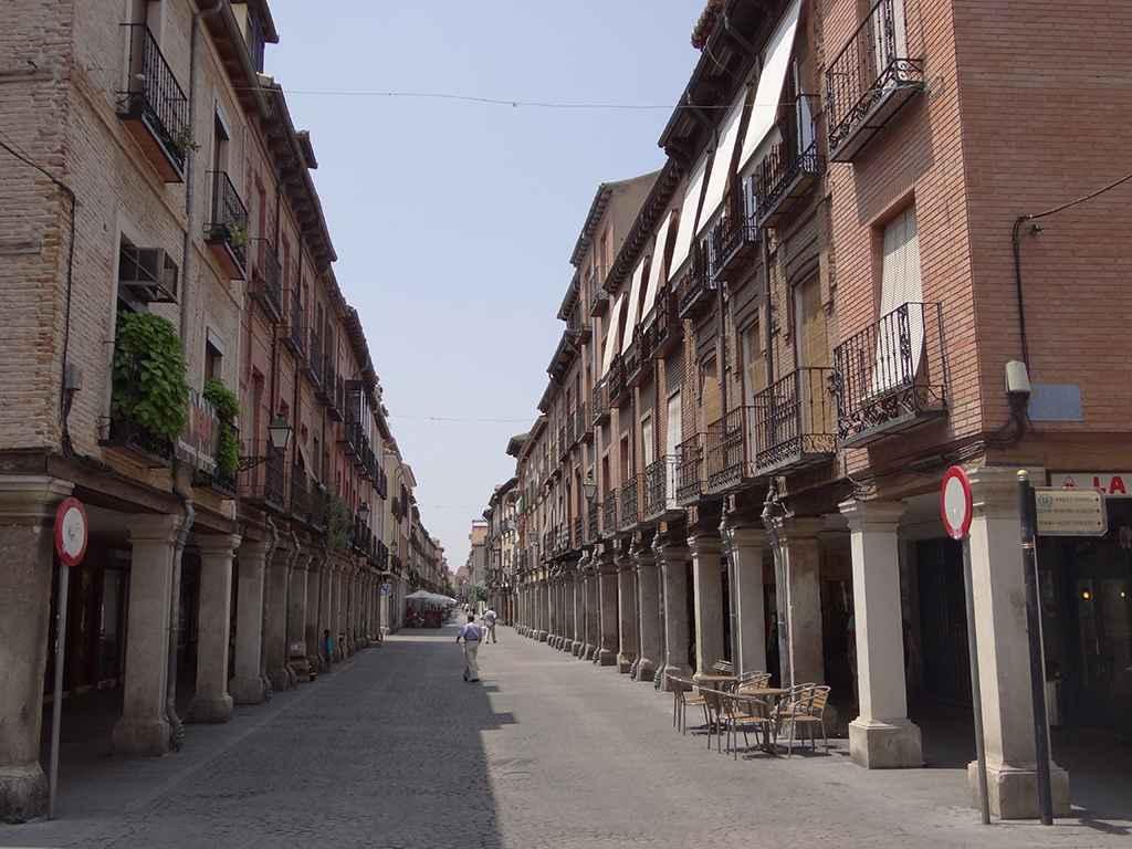 Calle mayor de alcal de henares dream alcal for Oficina de turismo alcala de henares