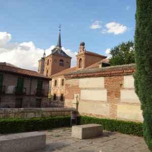 Convento de los Trinitarios Descalzos - Vista desde la entrada