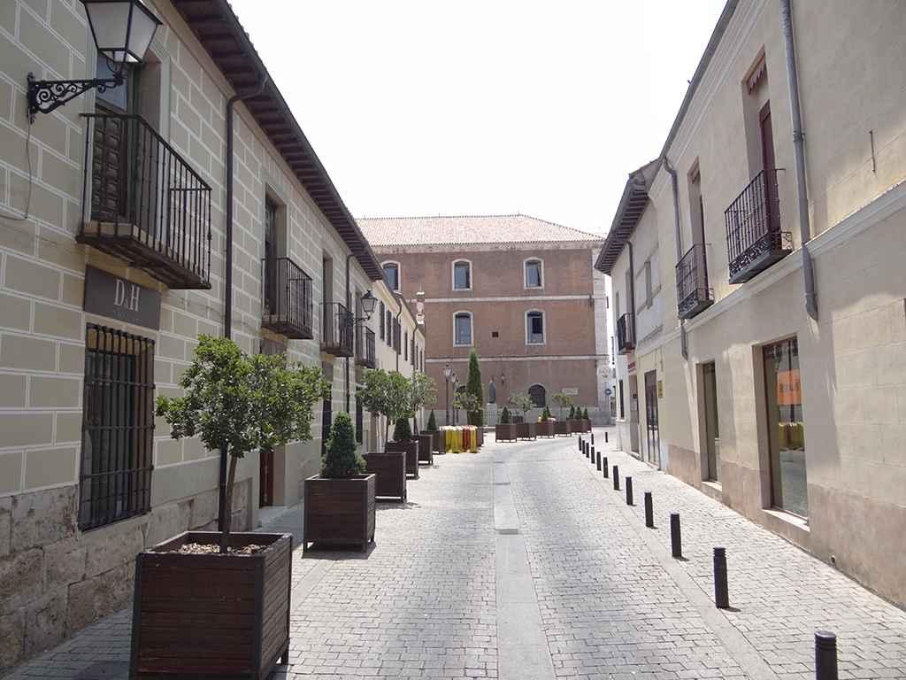 Convento de las Clarisas de San Diego - Detalle de la calle de las Beatas