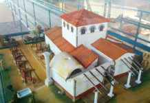 Casa de Hippolytus - Maqueta del exterior