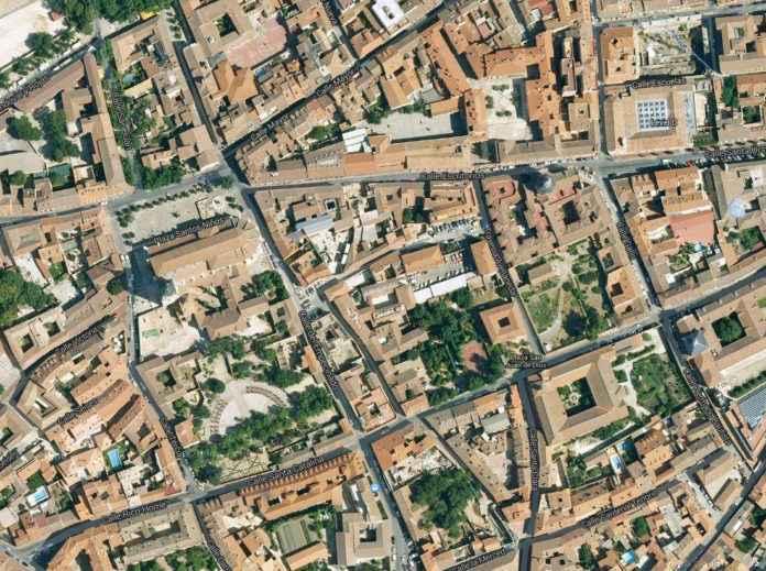 Alcalá desde el aire