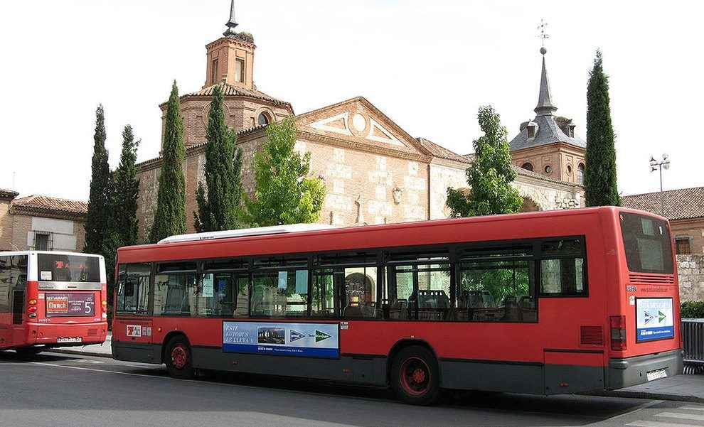 los autobuses urbanos en alcal de henares dream alcal