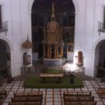 Interior del convento cisterciense de San Bernardo, o de las Bernardas, de Alcalá de Henares