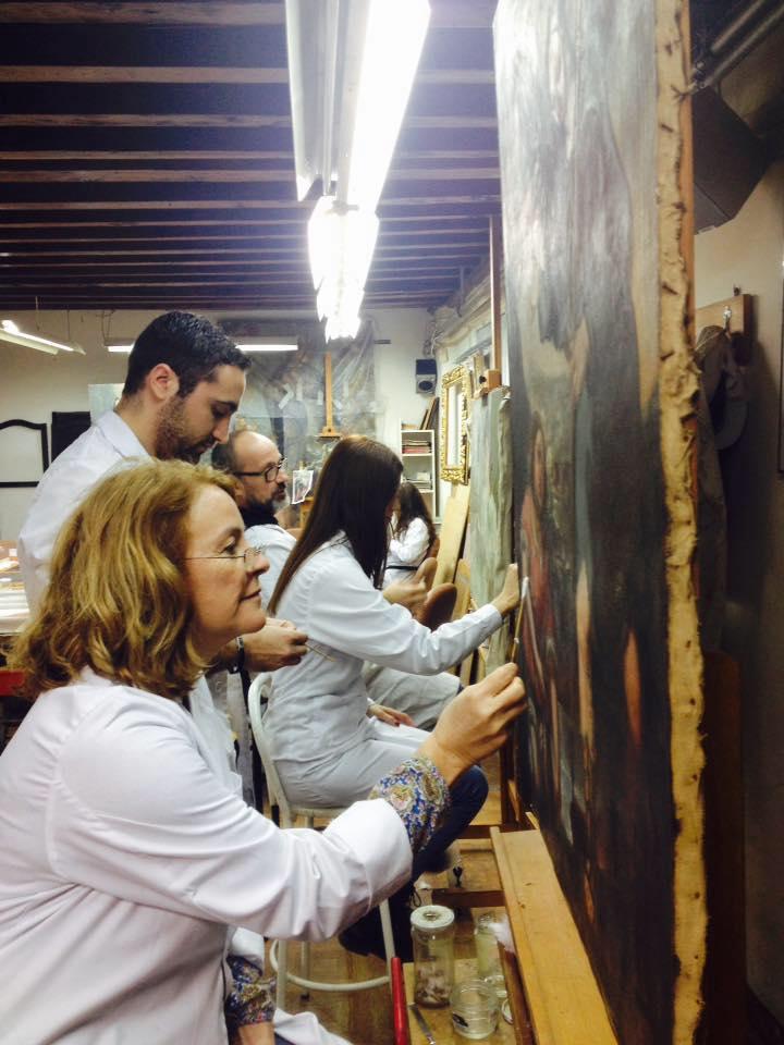 Curso de restauraci n de pintura en alcal de henares for Aprender a cocinar en alcala de henares