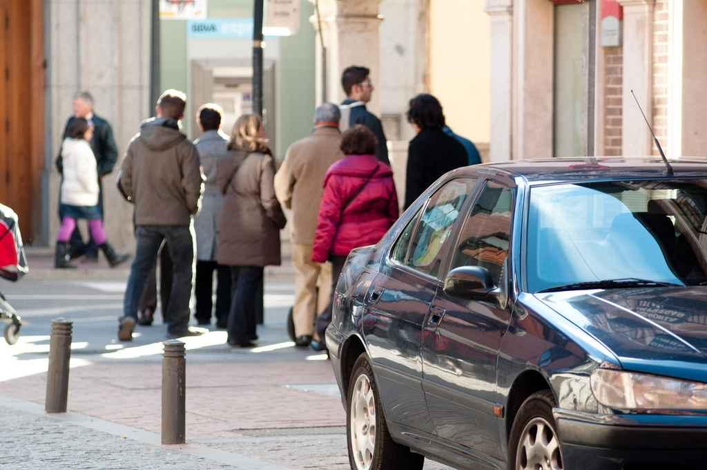 Gente en Alcalá