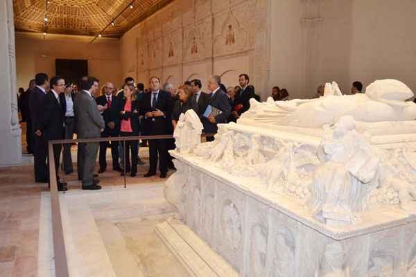 Reinauguración de la Capilla de San Ildefonso en 2013