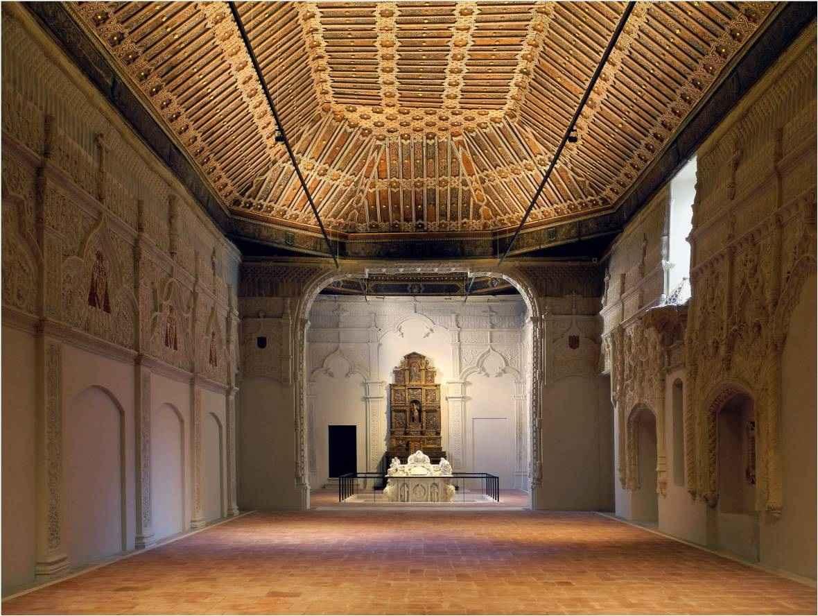 Resultado de imagen de Capilla de San Ildefonso en la Universidad de Alcalá de Henares