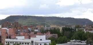 Cerro del Viso visto desde Alcalá de Henares