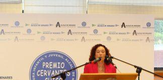 Presentación de Maite Carranza, Premio Cervantes Chico 2014