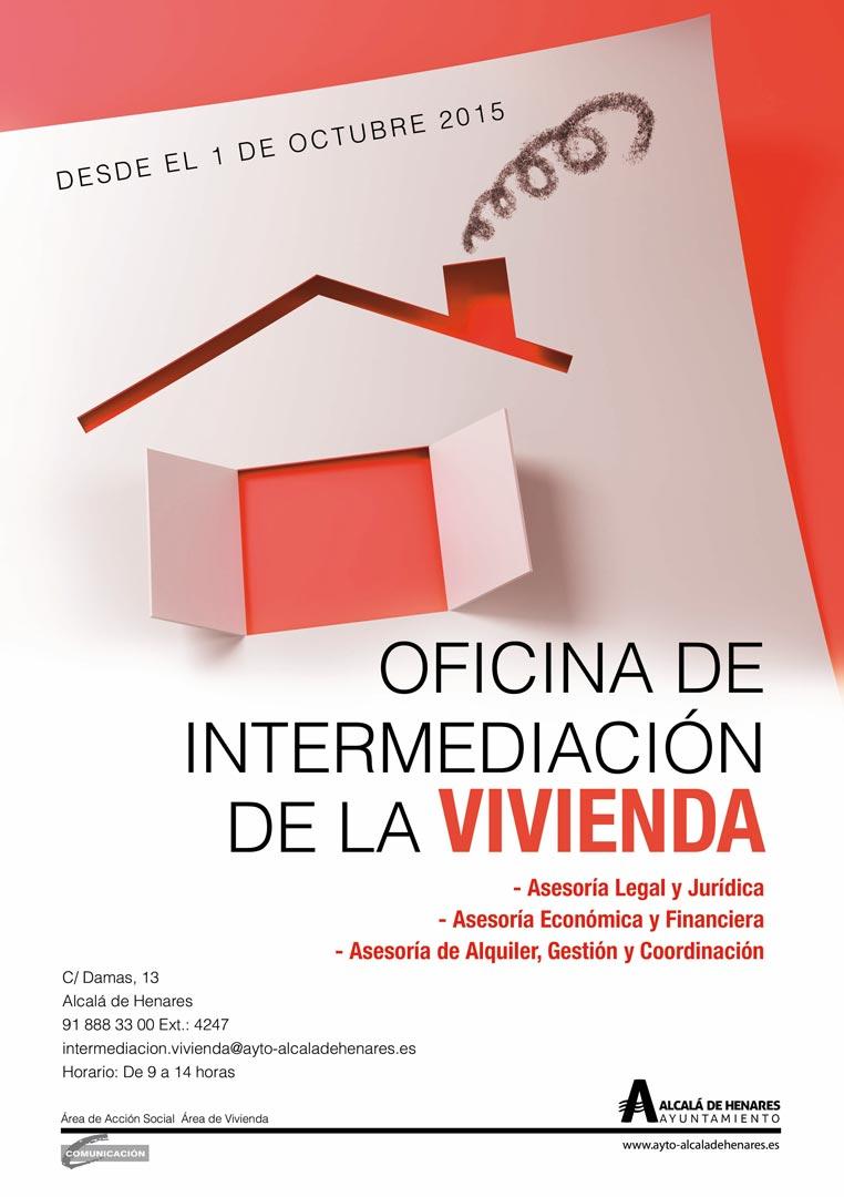 Oficina de intermediaci n de la vivienda en alcal dream for Cartel oficina