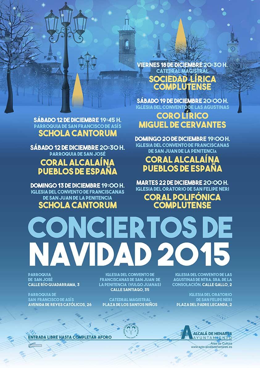 Conciertos de navidad 2015 en alcal de henares dream alcal for Calle prado de la iglesia guadarrama