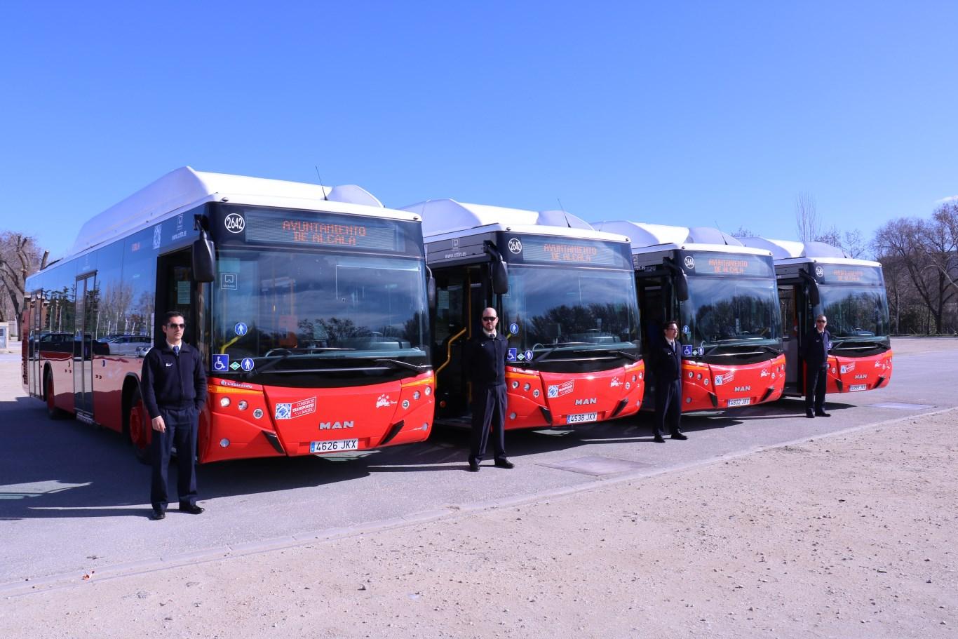 Nuevos autobuses urbanos para alcal de henares dream for Autobuses alcala de henares