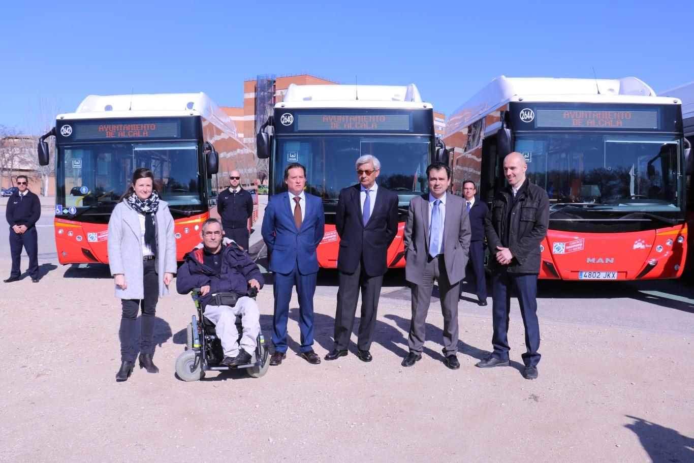 Nuevos autobuses urbanos para alcal de henares dream alcal for Autobuses alcala de henares