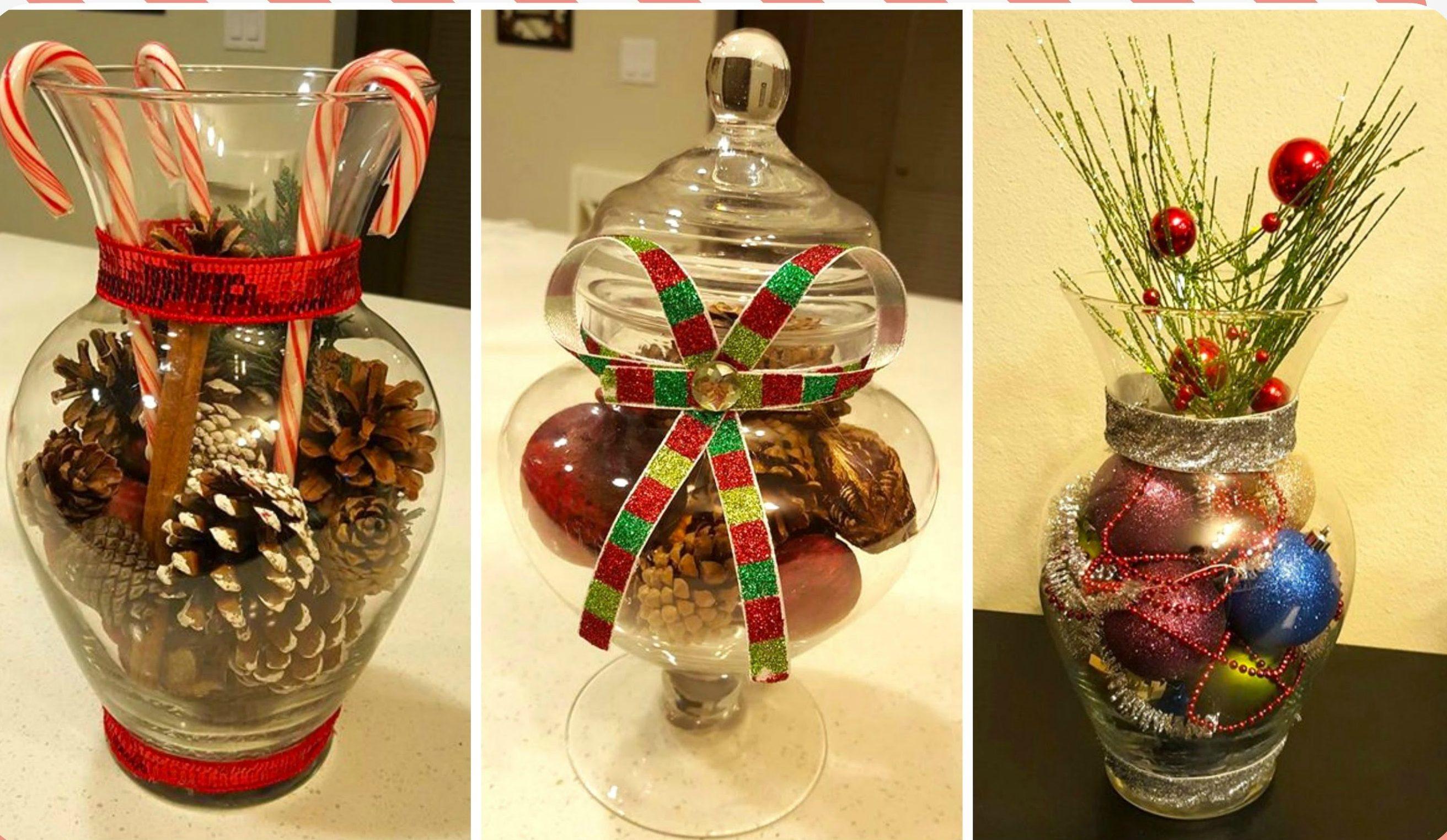 Tutorial diy aprende a hacer tus propios centros de mesa - Como hacer centros navidenos ...