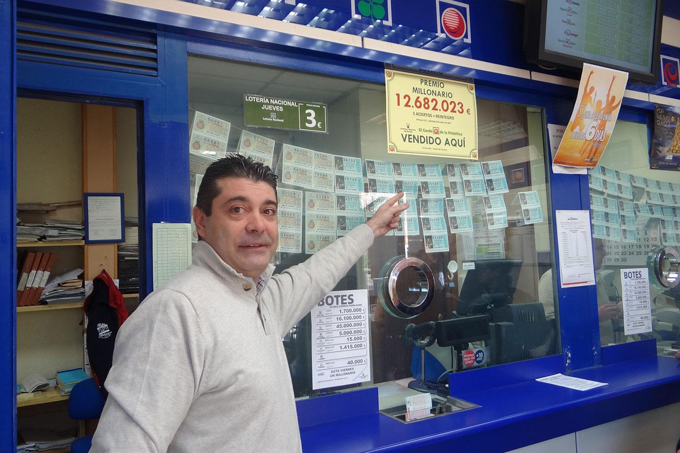 La Lotería Primitiva deja más de 12 millones en Alcalá de Henares ... 810fec224fd21