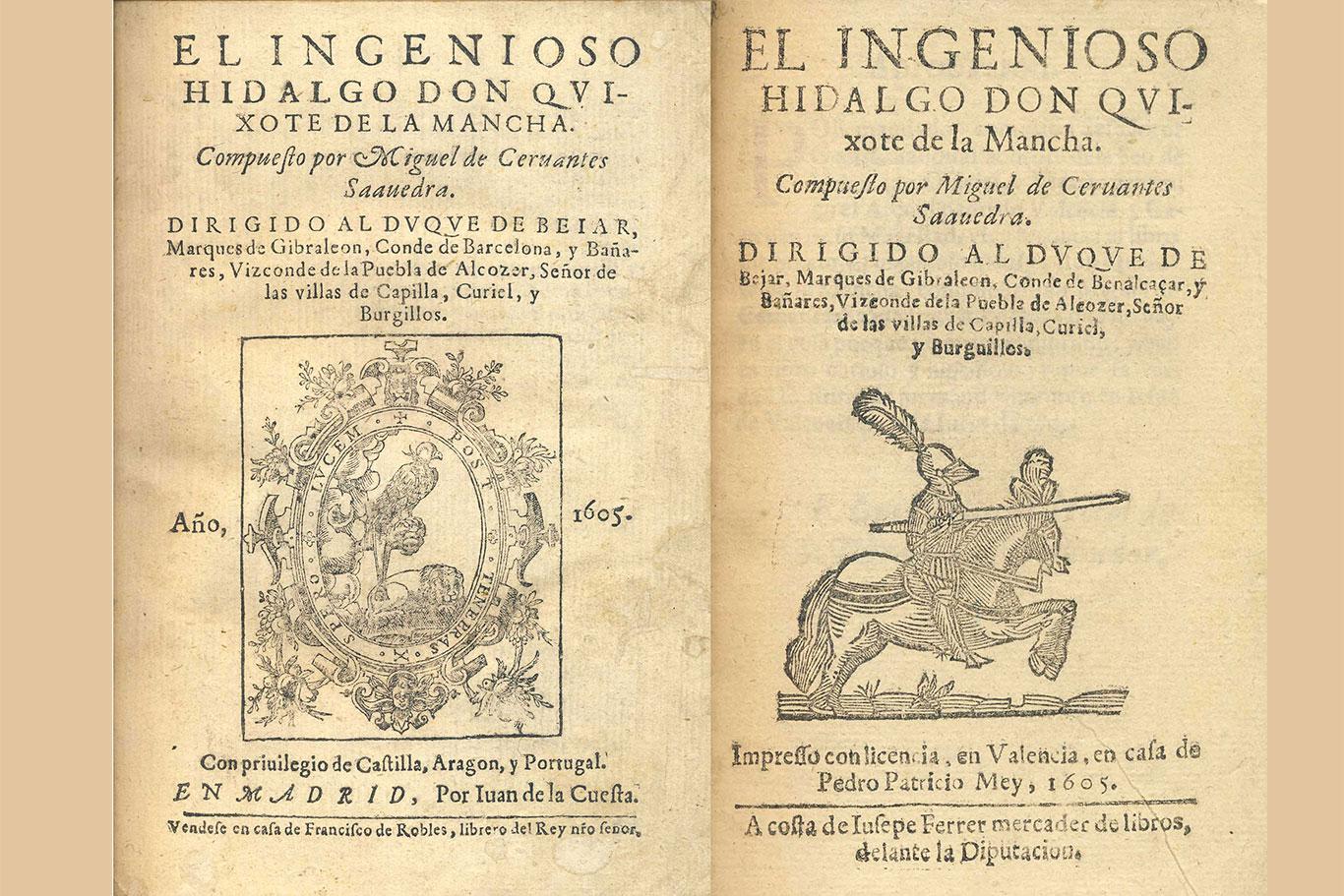 16 de enero de 1605: se publica El ingenioso hidalgo Don Quijote de la Mancha - Dream Alcalá