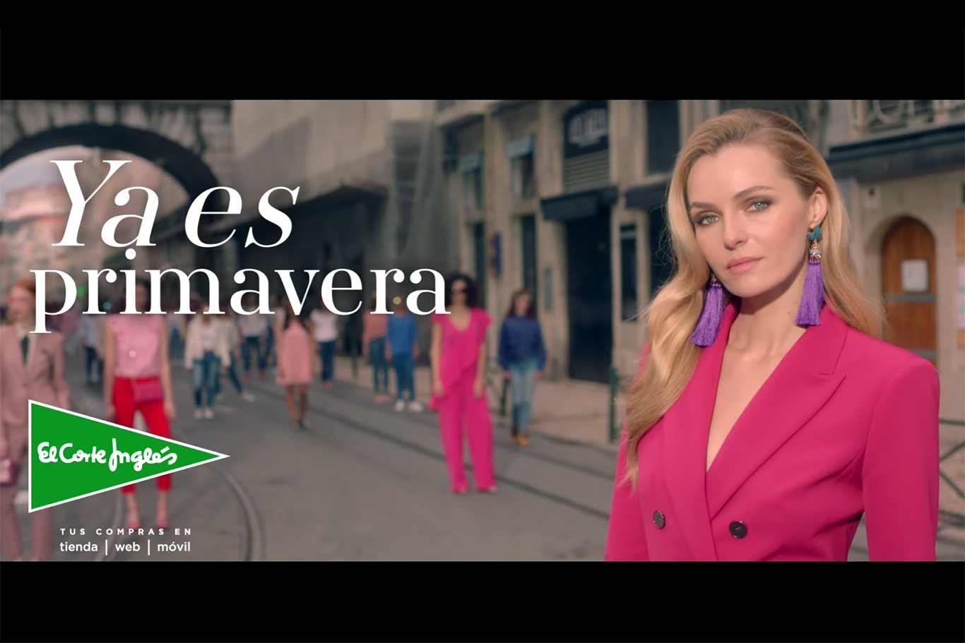 Los mejores conjuntos del spot de tv ya es primavera en el - Blancolor corte ingles 2017 ...