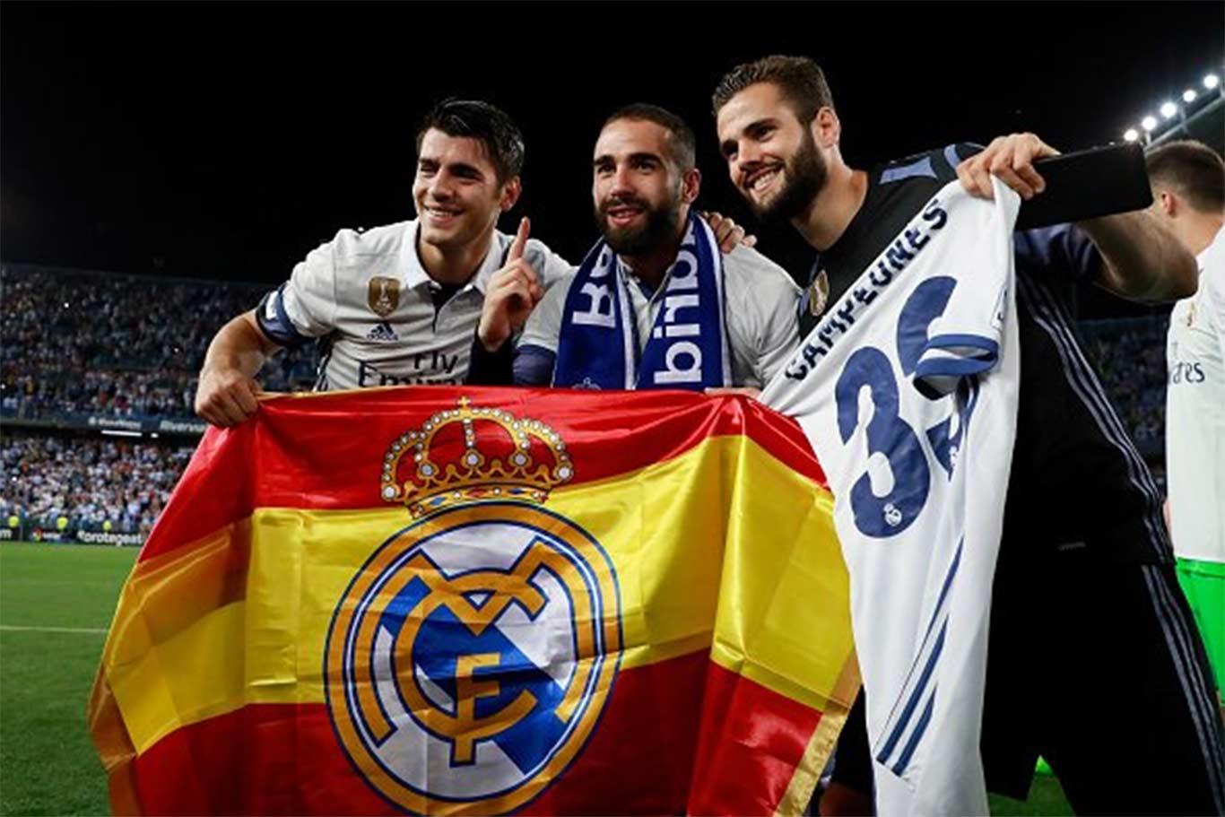 2 Real Madrid 2017 La Liga: El Alcalaíno Nacho Es El 'mejor Jugador De La Temporada