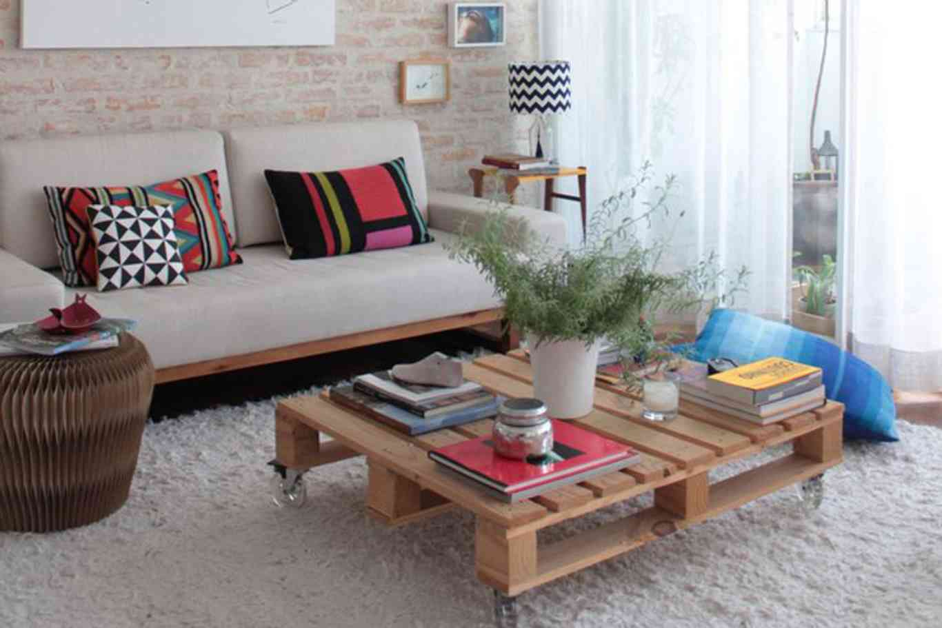 Decoraci n con palets dale el toque m s cool a tu casa - Decoracion con pallets ...