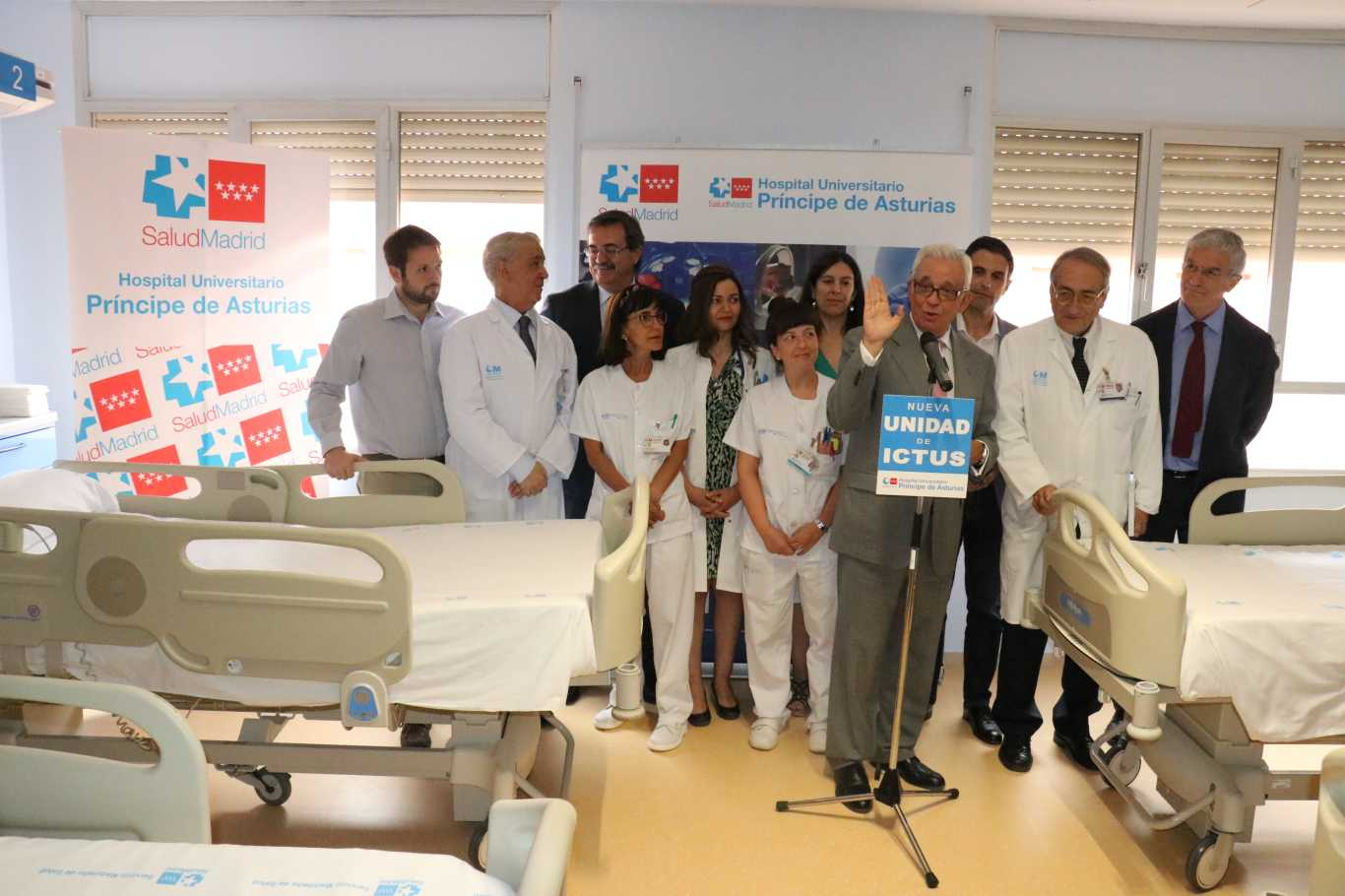 Unidad de Ictus del Hospital Príncipe de Asturias