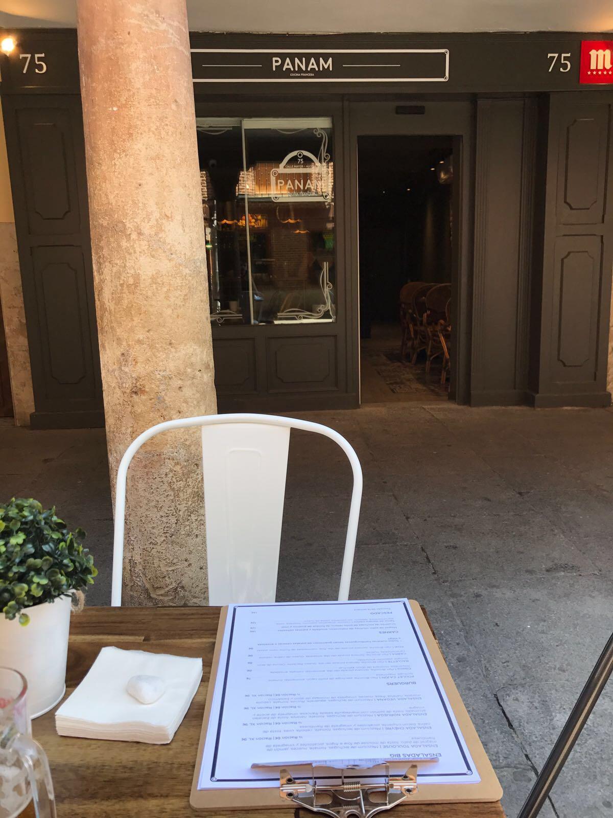 restaurante francés PANAM de Alcalá de Henares
