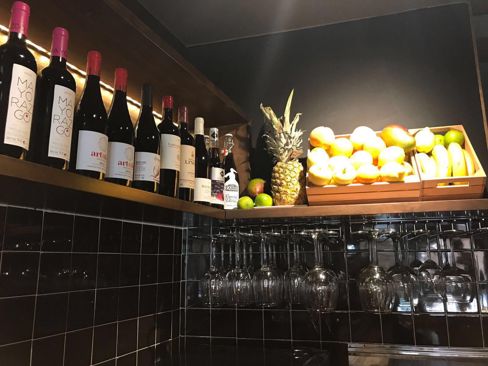 Restaurante francés PANAM de Alcalá de Henares.