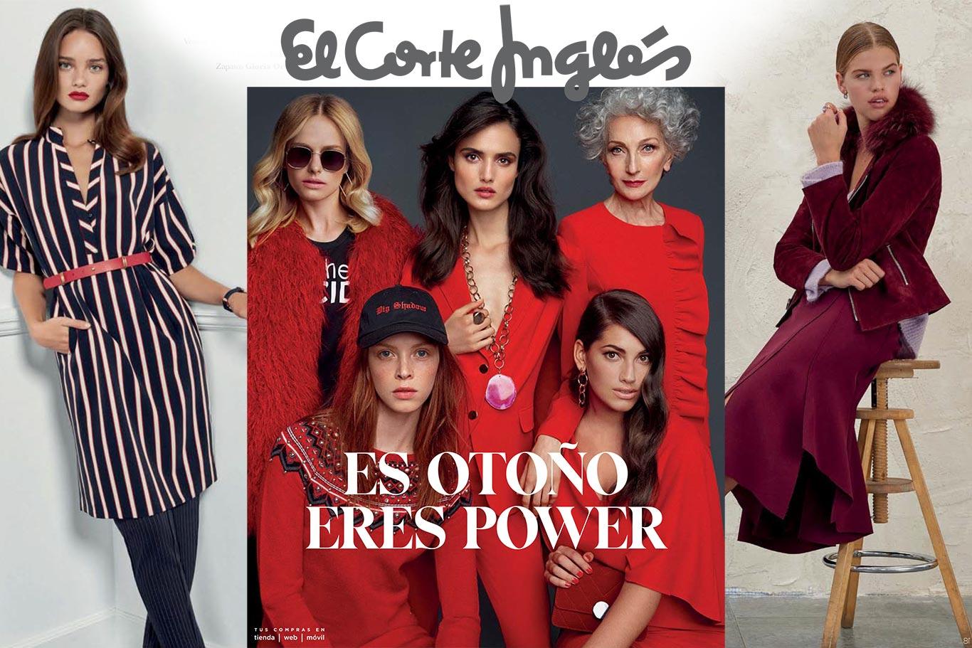 48b0a7f971da Es Otoño, eres Power en El Corte Inglés - Dream Alcalá