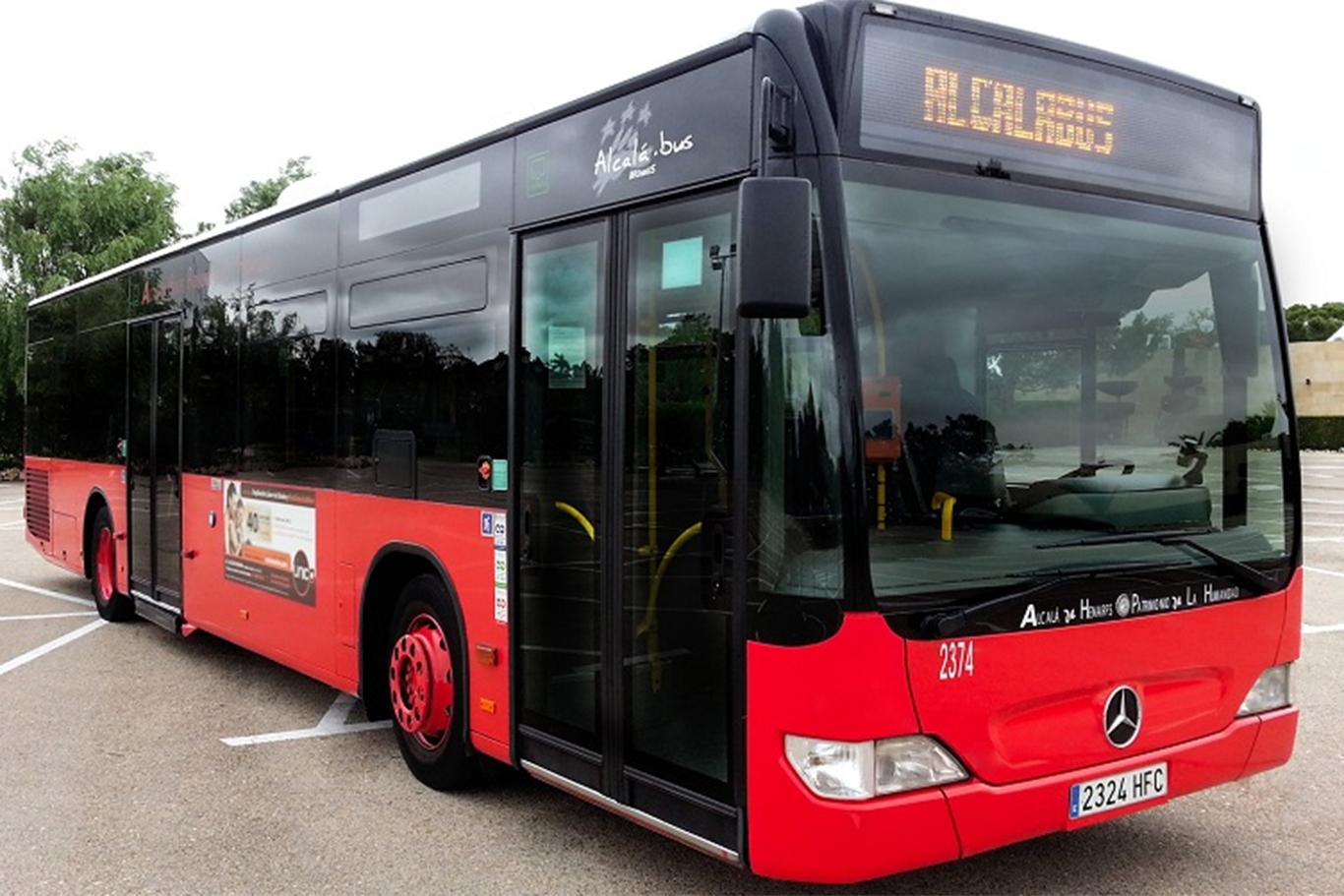 La l nea 9 de autobuses urbanos ya circula por el barrio for Autobuses alcala de henares
