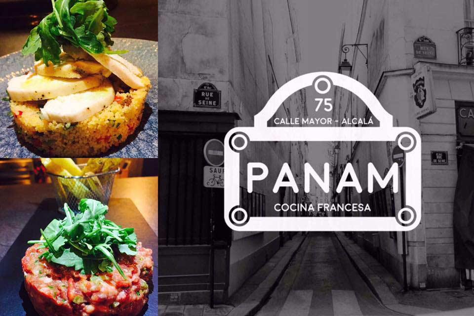 Nueva carta y horario de panam restaurante franc s de for Cena en frances